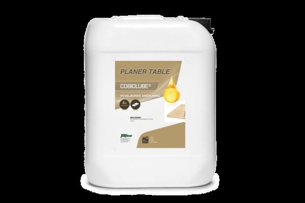 Cobiolube Planer Table, nyutvecklat smörj- och rengöringsmedel för hyvelbord